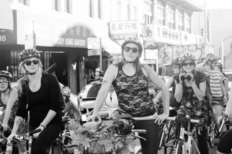 The Bikemommas of CycloFemme