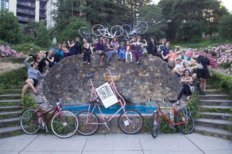 BOOM! Oakland CycloFemme 2013!